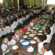 Are Thaw Ka Middle School Donation in Bago